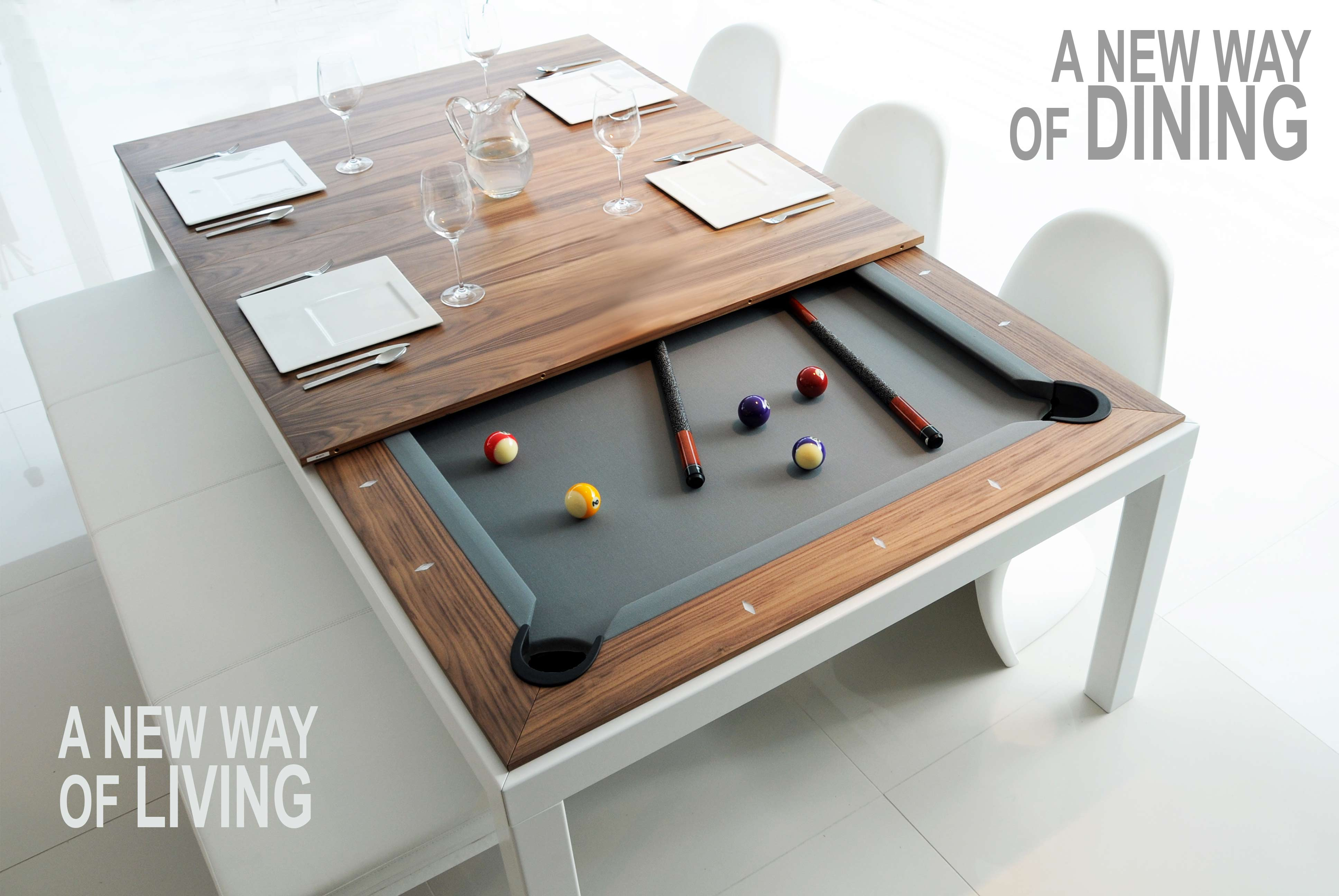 FUSIONTABLES - DINING/POOL TABLE
