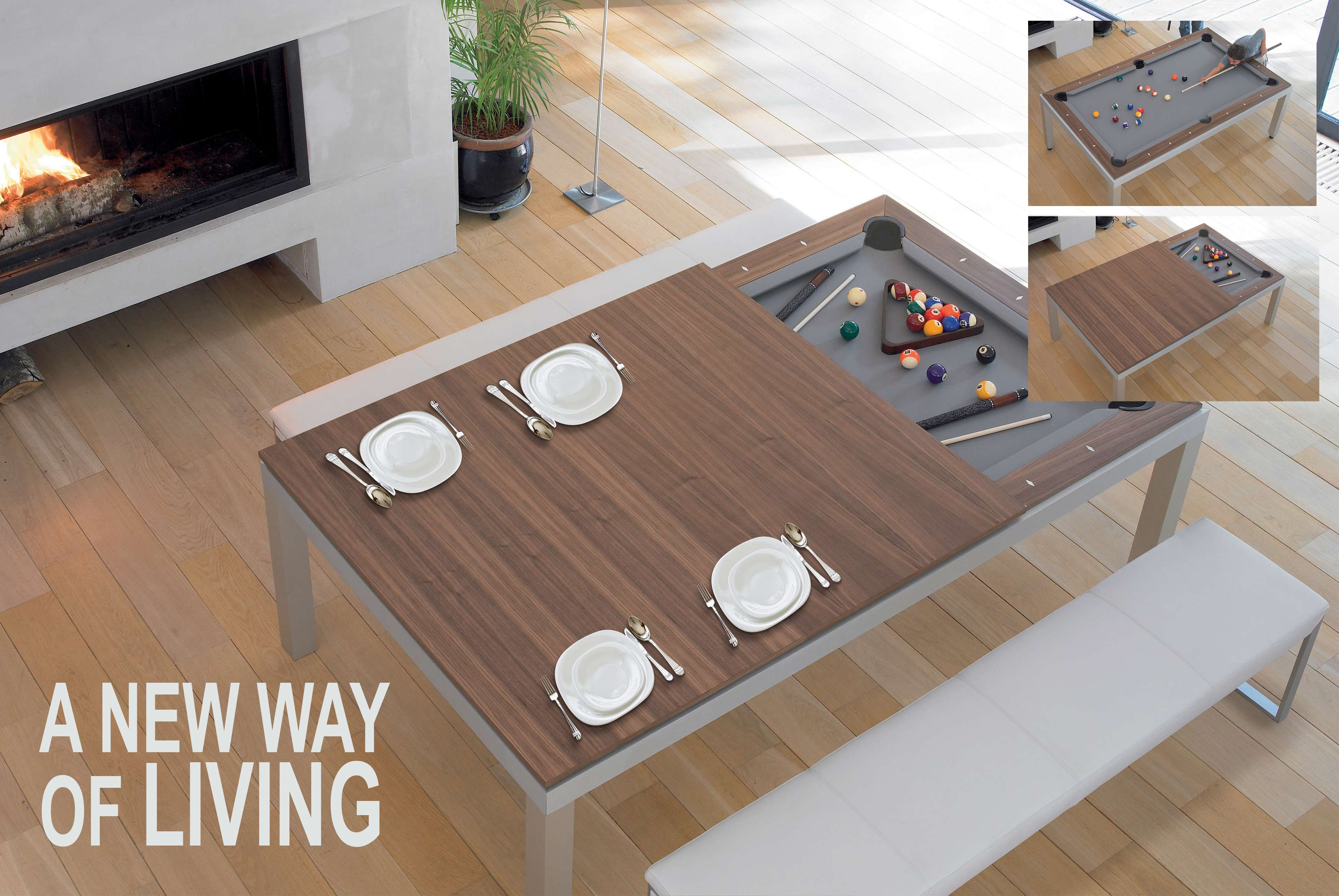 FUSIONTABLE - DINING/POOL TABLE