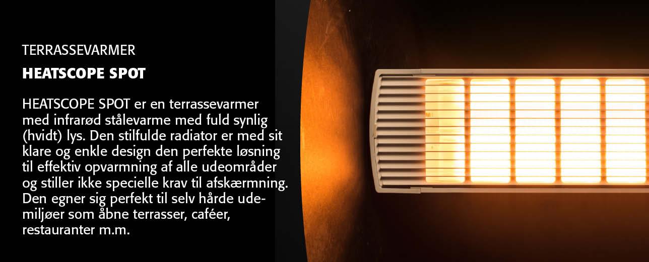 Heatscope Spot Terrassevarmer
