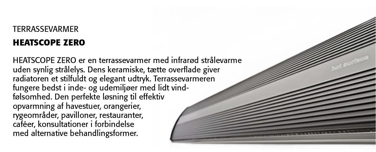 Heatscope Zero Terrassevarmer