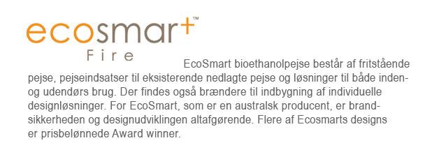 ECOSMART - Indendørs bioethanol pejse