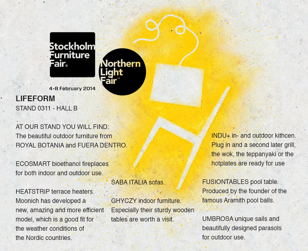 NEXT STEP - STOCKHOLM FURNITURE FAIR