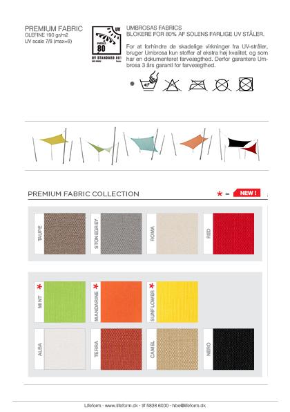 Umbrosa fabrics premium